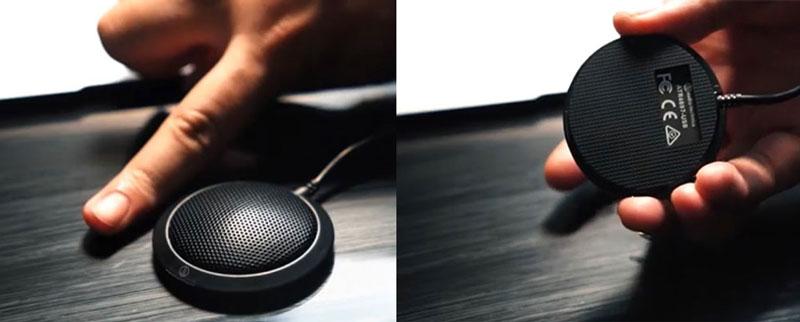 Review chi tiết thiết bị Micro họp trực tuyến Audio ATR4697-USB